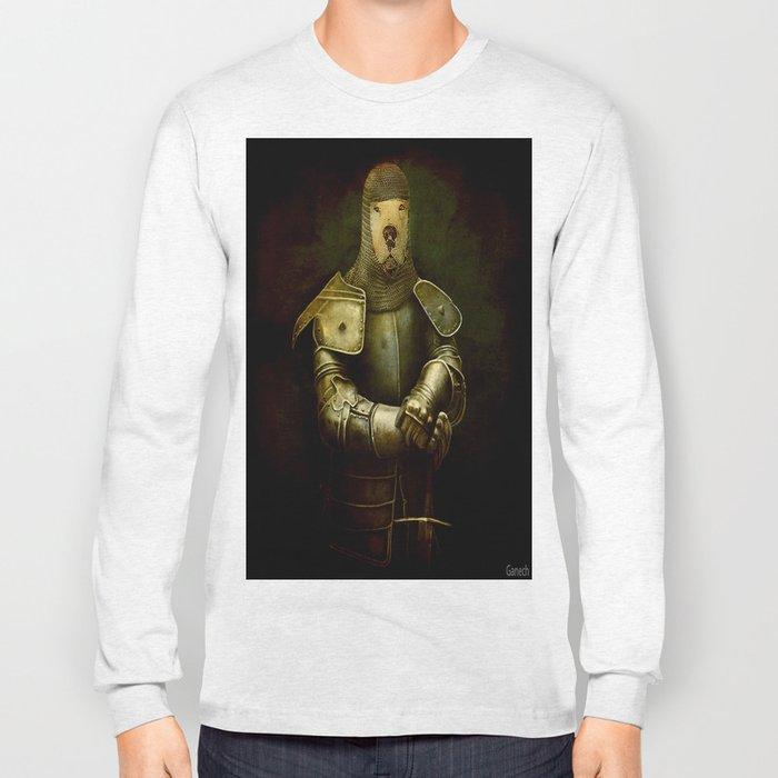 dog in armor Long Sleeve T-shirt