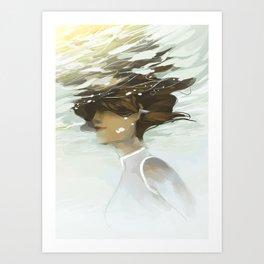 Korra III Art Print