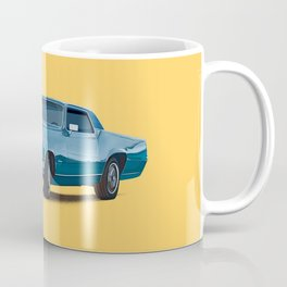 Vintage car solid colour Coffee Mug