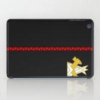 iwatobi iPad Cases featuring Free Samezuka Swim Club Jacket by Bunny Frost