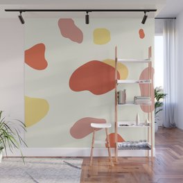 If a Sunset Melted Into Puddles Wall Mural