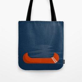 Camping Series: canoe Tote Bag