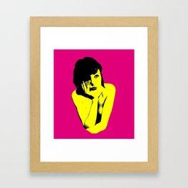 Pop-art Framed Art Print