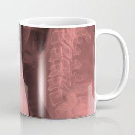 Skull and Spine Coffee Mug