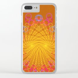 Spiro Graphic Clear iPhone Case