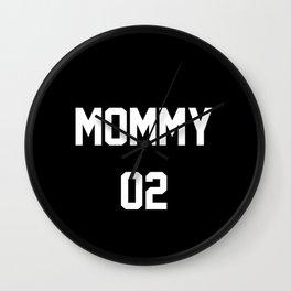 Mommy 02 Wall Clock
