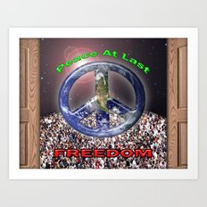 Peace At Last Poster Art Print