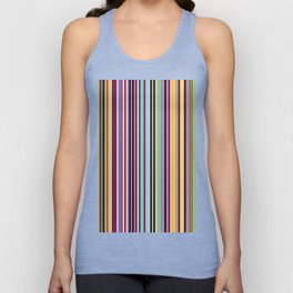 Colorful Symphony of Summer Unisex Tank Top