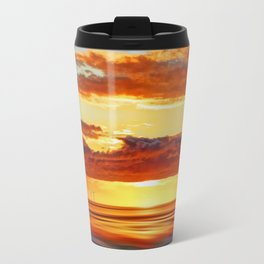 Irish Sea Sunset Travel Mug