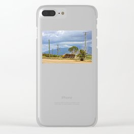 Sugar Cane transport in the tropics Clear iPhone Case