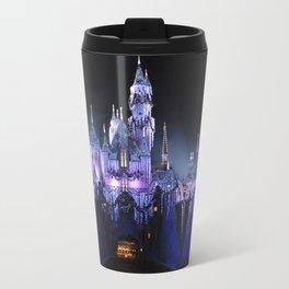Sleeping Beauty's Winter Castle (Night-time, no 1) Travel Mug