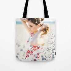 Beach Hair Tote Bag
