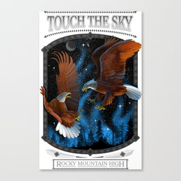 TOUCH THE SKY - ROCKY MOUNTAIN HIGH Canvas Print