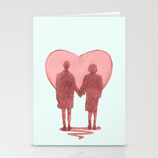fight club ending Stationery Cards