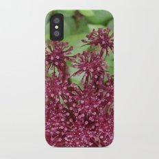 Purple flower Slim Case iPhone X