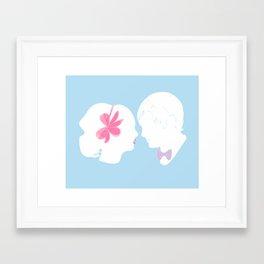 C&B Silhouette Framed Art Print