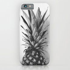 Black and white pineapple Slim Case iPhone 6