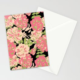 Big Wild roses Stationery Cards
