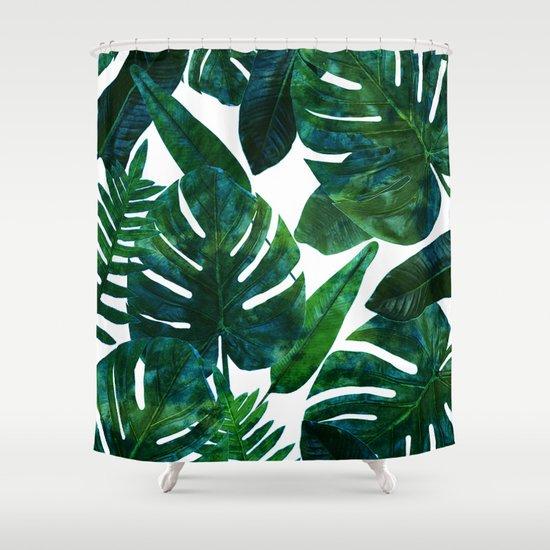 Perceptive Dream || #society6 #tropical #buyart Shower Curtain by ...