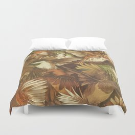Red-Throated, Black-capped, Spotted, Barred Duvet Cover