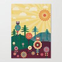 sunshine Canvas Prints featuring Sunshine by Kakel