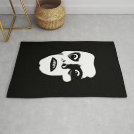 Howdy, Pazuzu Demon Design for Wall Art, Prints, Posters, Tshirts, Men, Women, Kids Rug