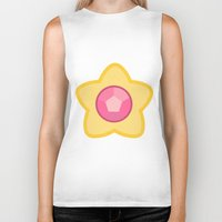 steven universe Biker Tanks featuring Steven Universe by The Barefoot Hatter