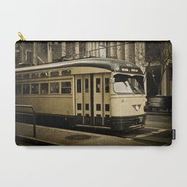 San Francisco Street Car Carry-All Pouch
