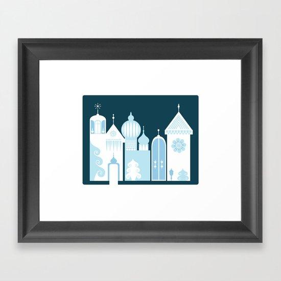 The Ice Castle Framed Art Print