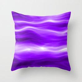Violet energy Throw Pillow