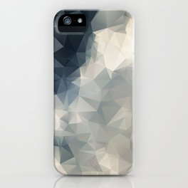 LOWPOLY GEOMETRIC SKY iPhone Case
