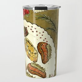 Holiday Hors D'oeuvre Travel Mug