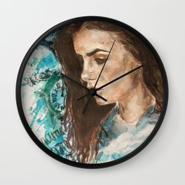 My name is not 'little girl' Wall Clock