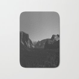 Tunnel View, Yosemite National Park Bath Mat