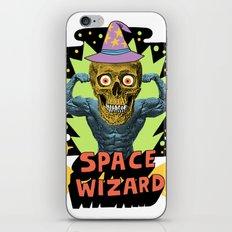SPACE WIZARD iPhone Skin