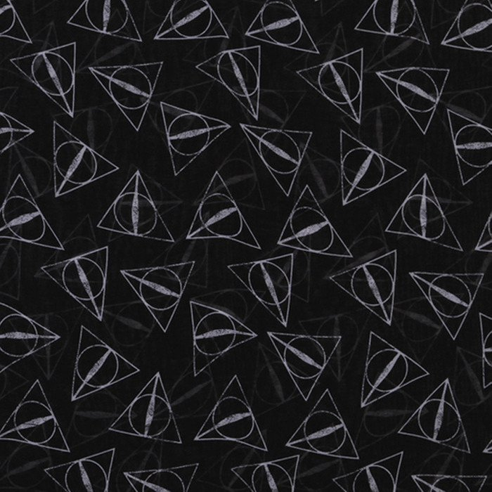deathly hollow pattern Comforters