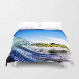 Tropical Wave Duvet Cover