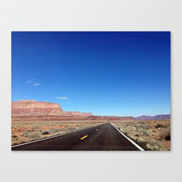 Behind the Windshield Canvas Print