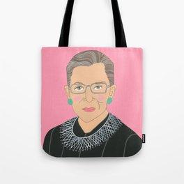 Ruth Bader Ginsberg Tote Bag