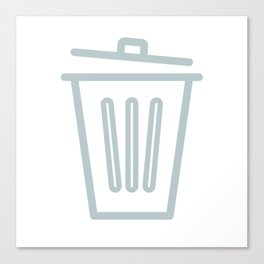 Garbage Can Canvas Print