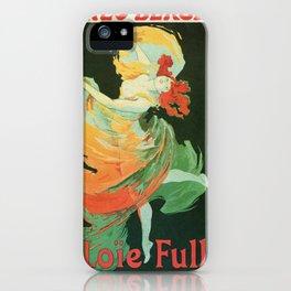 La Loie Fuller iPhone Case