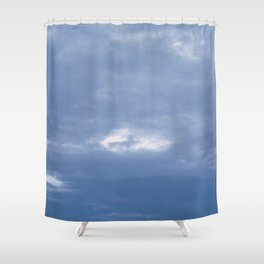 Cross in the Clouds Shower Curtain