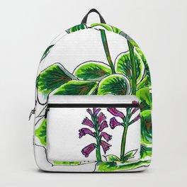 Happy Hosta Backpack