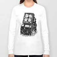 cats Long Sleeve T-shirts featuring Cats by Ronan Lynam