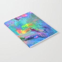 Fusion - Fluid Abstract Art Notebook