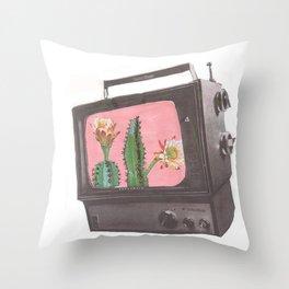 Do Not Adjust Your Screen Throw Pillow