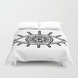 Mandala Evil Eye Duvet Cover