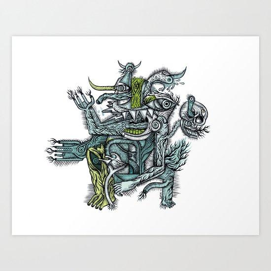 Holy dance - Print available!! Art Print