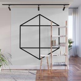 prism art . black line prism , decorative art prints for living room, Home Decor Graphicdesign Wall Mural