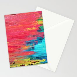 Turquoise Sunset Stationery Cards